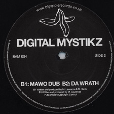 Digital Mystiks - BAM 004 - Side B
